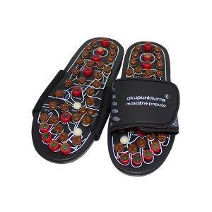 Akupunkturne masažne papuče - refleksologija